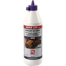 houtlijm D2 750 ml wit