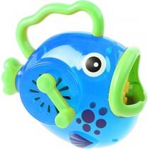 bellenblaasmachine vis 14 cm blauw