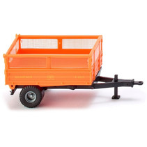 miniatuurkipper Brantner Single Axle 1:87 oranje