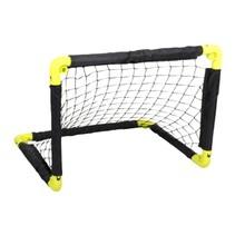 voetbaldoel 55 cm geel/zwart