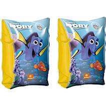 zwemvleugels Finding Dory junior 25 cm vinyl blauw