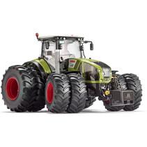 miniatuurtractor Claas Arion 950 twin tyres zink 1:32 groen