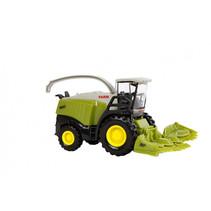 Landbouwvoertuig met maaier jongens 13,5 cm ABS groen