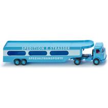 miniatuurtransporter Mercedes Benz Pullman 1:87 blauw