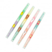 highlighters Line Friends 4-delig