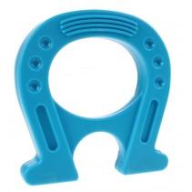 Mega Magneet supersterk hoefijzer blauw 12 cm