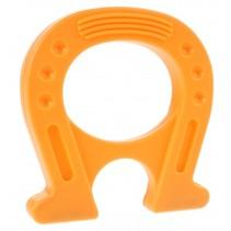 Mega Magneet supersterk hoefijzer oranje 12 cm