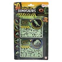 3D-puzzel glow-in-the-dark tyrannosaurus & triceratops
