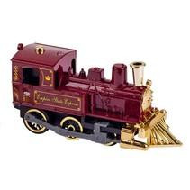 Metalen Klassieke Locomotief Met Geluid: 14 cm Rood