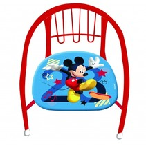 kinderstoel Micky Mouse 36 x 35 x 36 cm rood/blauw