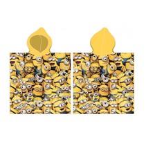 badponcho junior geel 50 x 115 cm