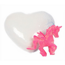 bruisbal Sweet Heart wit/roze