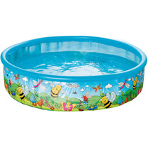 opzetzwembad 185 x 39 cm blauw