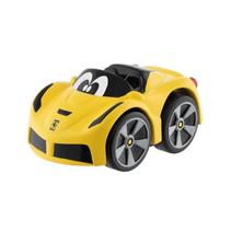 speelgoedauto Turbo Touch Ferrari F12 junior geel