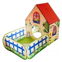 speeltent tuinhuis 150 x 90 x 110 cm multicolor