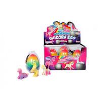 groei-eieren unicorn rainbow meisjes 11 cm