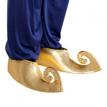 overschoenen Sultan 44 cm polyester goud