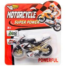 motor Super Power jongens 15,5 cm rood
