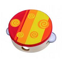 tamboerijn hout rood/geel