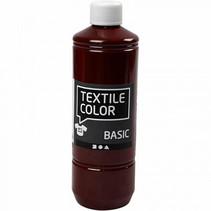 textielverf Basic 500ml bruin