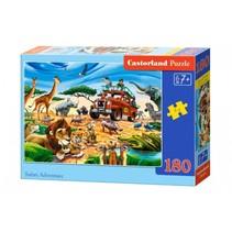 legpuzzel Safari Adventure 180 stukjes