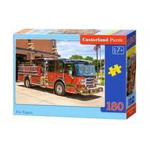 legpuzzel Fire engine 180 stukjes