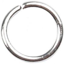 ronde ring 0,7 x 4 x 5,4 mm zilver 500 stuks