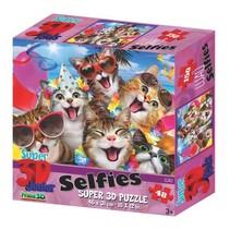 puzzel kattenselfie 48 stukjes