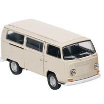Metalen Volkswagen Bus T2 (1972) Crème