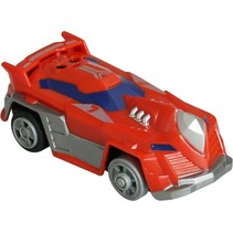auto Champ 200x op batterijen 9 cm rood