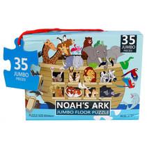 vloerpuzzel Noah's Ark 60 x 44 cm karton 35 stukjes
