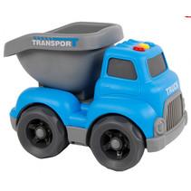 Road Truck jongens 16 cm blauw
