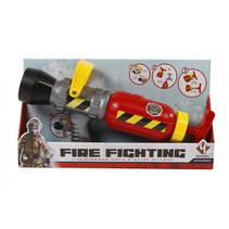waterpistool Fire Fighting junior 35 cm rood/geel/grijs
