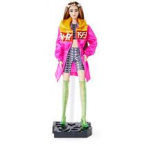 pop BMR1959 meisjes 32 cm roze/grijs