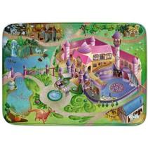 Speelkleed prinsessen kasteel 100 x 150 cm