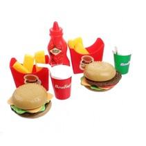 speelset hamburger 24-delig