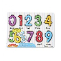 Cijfer puzzel Engels 10-delig