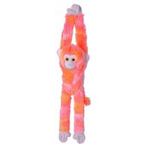 knuffel aap junior 51 cm pluche roze