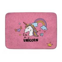 vloerkleed I'm a unicorn 100 x 150 cm roze