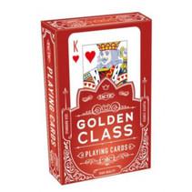 speelkaarten Golden Class 9 x 6 cm papier 55-delig