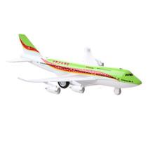 vliegtuig Sonic Turbo Jet 19,5 cm die-cast groen