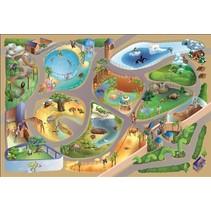 speelkleed dierentuin waterdicht 140 x 200 cm