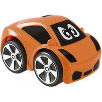 auto Mini Turbo Touch junior 9 x 6 cm zwart/oranje
