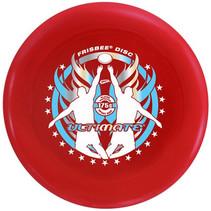 frisbee Ultimate junior 24 cm rood