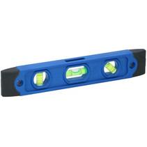 waterpas 22,5 x 4,1 x 1,8 cm blauw