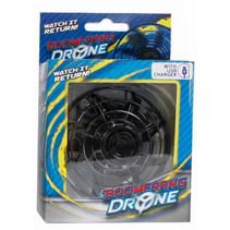 boomerang-drone met USB-oplader zilver 2-delig