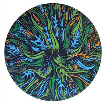 opvouwbare frisbee Wingman Seaweed 15 cm siliconen