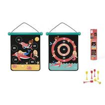 magnetisch dartbord Zeemeermin meisjes 40 x 31 cm 8-delig