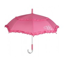 kinderparaplu met franjes roze 75 cm