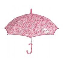 kinderparaplu roze 80 cm